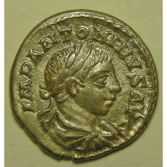 Empire romain, Elagabale, Denier, R/ SPEI PERPETVA, 3.42 Grs, TTB/TTB+