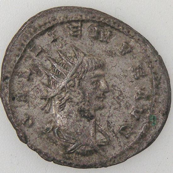 GALLIENUS, Antoninien, R/ PAX FVNDATA, TTB/TTB+