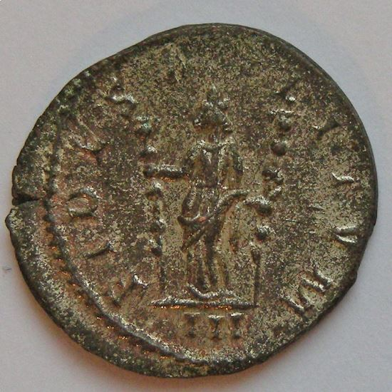 PROBUS, Antoninien, FIDES MILITVM, TTB+