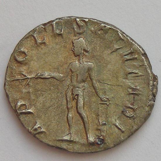 TREBONIEN GALLE, TREBONIANUS GALLUS, Antoninien, APOLL SALVTARI, TB+/TTB