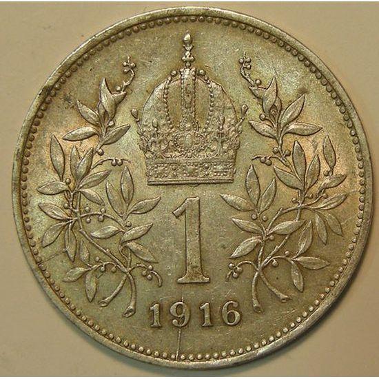 Austria, 1 Corona 1916, TTB+/SUP, KM# 2820