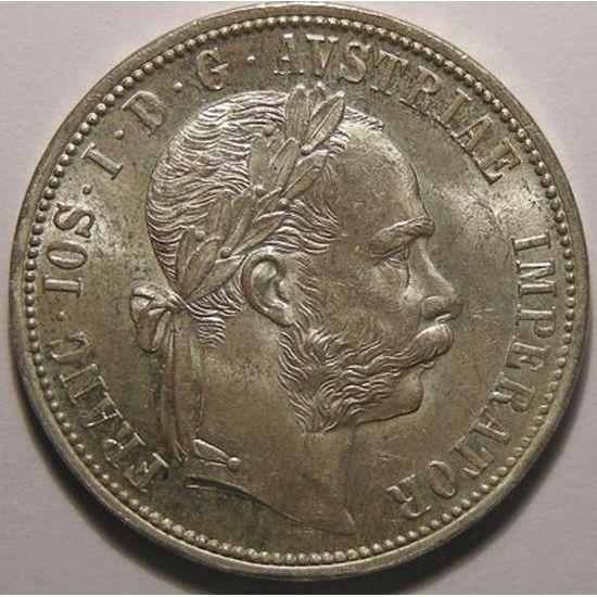 Autriche, Austria, 1 Florin 1884, SUP+/SPL, KM# 2222