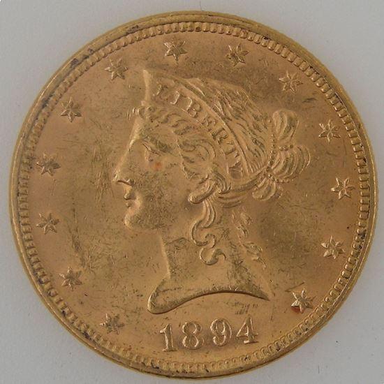 U.S.A, Etats-Unis d'Amérique, 10 Dollars 1894, SUP, KM #102