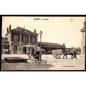 01 - BOURG (Ain) - La Gare