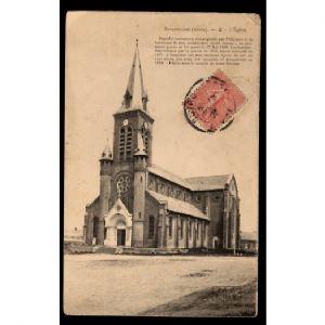 02 - BUIRONFOSSE (Aisne) - L'Eglise