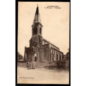 02 - BUIRONFOSSE (Aisne) - Le Boujon - L'Eglise