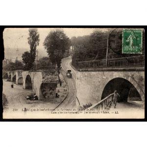 02 - LAON (Aisne) - Laon après Bombardement - Le Viaduc du Chemin de Fer
