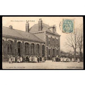 02 - SAINS RICHAUMONT (Aisne) - Ecole Laïque