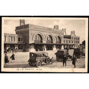 02 - SAINT QUENTIN (Aisne) - La Gare