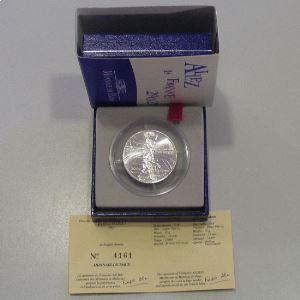 1/4 Euro 2002 BU, Allez les Bleus, KM#1983