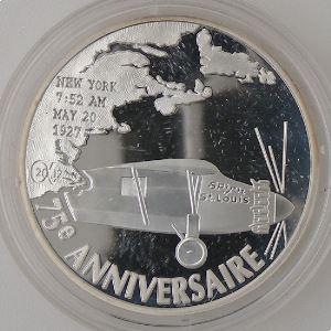 1.5 Euro 2002 BE, 75 Ans du 1er vol de l'Atlantique en Solitaire, Gad: EU 19