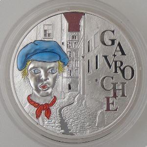 1.5 Euro 2002 BE, Gavroches, 200 Ans de la Naissance de Victor Hugo, Gad: EU 1