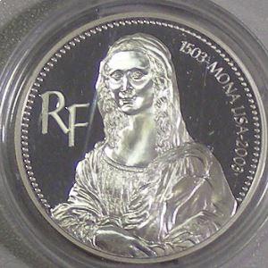 1.5 Euro 2003 BE, Mona Lisa, KM# 1353