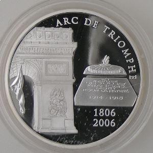 1.5 Euro 2006 BE, Arc de Triomphe 1806-2006, Gad: EU 212