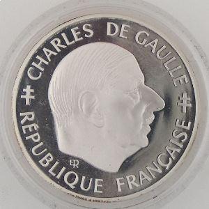 1 Franc 1988 BE, Charles De Gaulle, KM#978