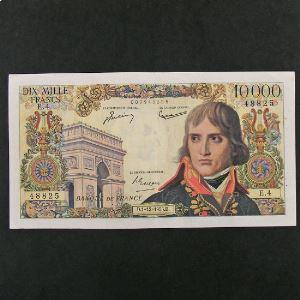 10.000 Francs Bonaparte 1.12.1955, TTB
