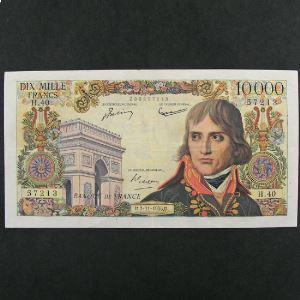 10.000 Francs Bonaparte 2.11.1956, TB+/TTB
