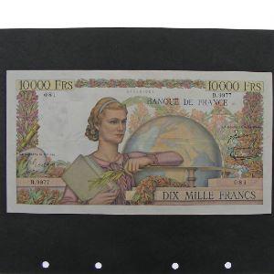 10.000 Francs Génie Français 1.12.1955, TB+/TTB