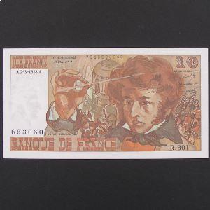 10 Francs Berlioz 2.3.1978, Pr.Neuf