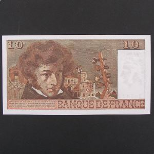 10 Francs Berlioz 6-3-1975, SUP+