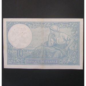 10 Francs Minerve 14-9-1939, TTB