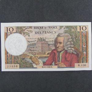 10 Francs Voltaire 4.2.1965, Pr.SPL