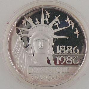 100 Francs 1986 BE , Liberté, KM#960a