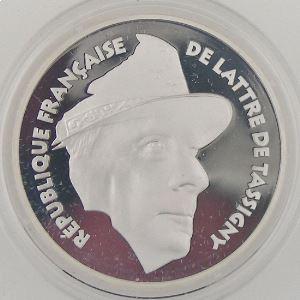 100 Francs 1994 BE, De Lattre de Tassigny, KM#1044