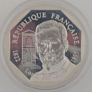 100 Francs 1995 BE, Louis Pasteur, KM#1134