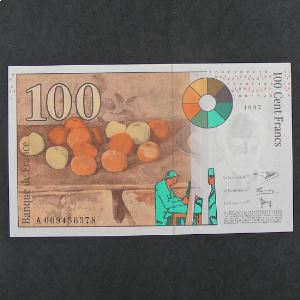 100 Francs Cézanne 1997, Pr.Neuf