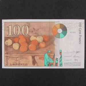 100 Francs Cézanne 1998, pr.Neuf