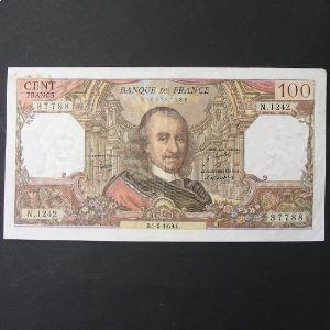 100 Francs Corneille 1-2-1979, TB+