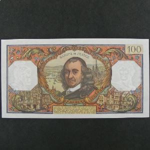 100 Francs Corneille 6.1.1972, SUP