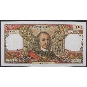 100 Francs Corneille 7.12.1967, Z.288, TTB+