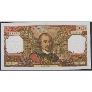 100 Francs Corneille 7.3.1968, A.311, TTB