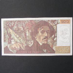 100 Francs Delacroix 1978, TB