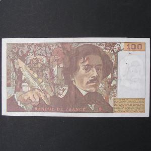 100 Francs Delacroix 1979, TTB