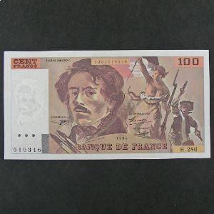 100 Francs Delacroix  1994, Pr.Neuf