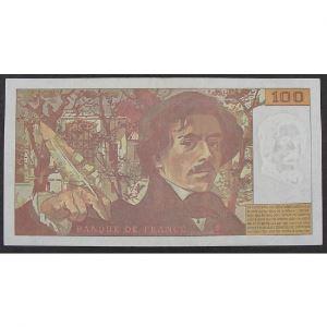100 Francs Delacroix 1995, F.298, TTB