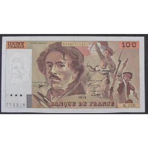100 Francs Delacroix 1995, K.259, SUP