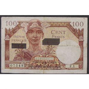 100 Francs Suez ND 1956, TB+