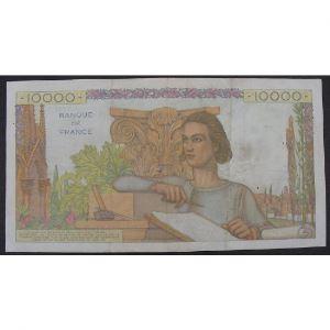 10000 Francs Génie Français 1.9.1955, K.9754, TB+