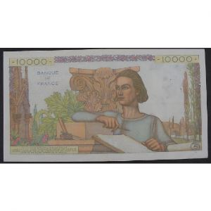 10000 Francs Génie Français 6.8.1953, B.5451, TTB+