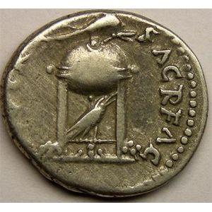 Photo numismatique Monnaies Empire Romain VITELLIUS (69) Denier