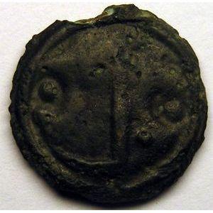 Photo numismatique Monnaies Gauloises Lingons Potin OYINDIA à la tête janiforme