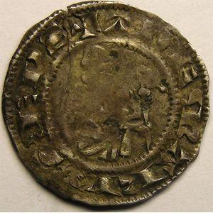 Photo numismatique Monnaies Lorraine Evêché de Metz Adhémar de Monteil (1327-1361)