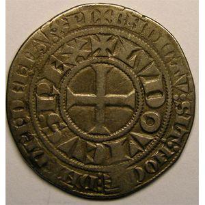 Photo numismatique Monnaies Royales Françaises LOUIS IX dit Saint Louis (1245-1270) Gros Tournois