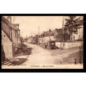 21 -  VITTEAUX - Rue de l'Eglise