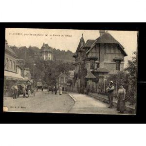 76 - ST ADRIEN - Entrée du Village