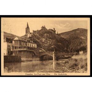 VIANDEN - Luxembourg - Le Pont sur l'Our - Die Ourbrücke